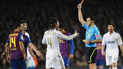 Jose Mourinho, Real Madrid Manager, Blows Up at Referee After Barcelona Game