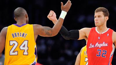 Kobe Bryant, Blake Griffin Headline Starters for NBA All-Star Team