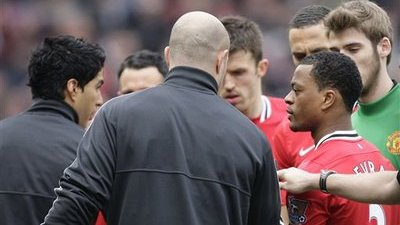 Luis Suarez Apologizes for Not Shaking Patrice Evra's Hand Before LFC-Manchester United Game