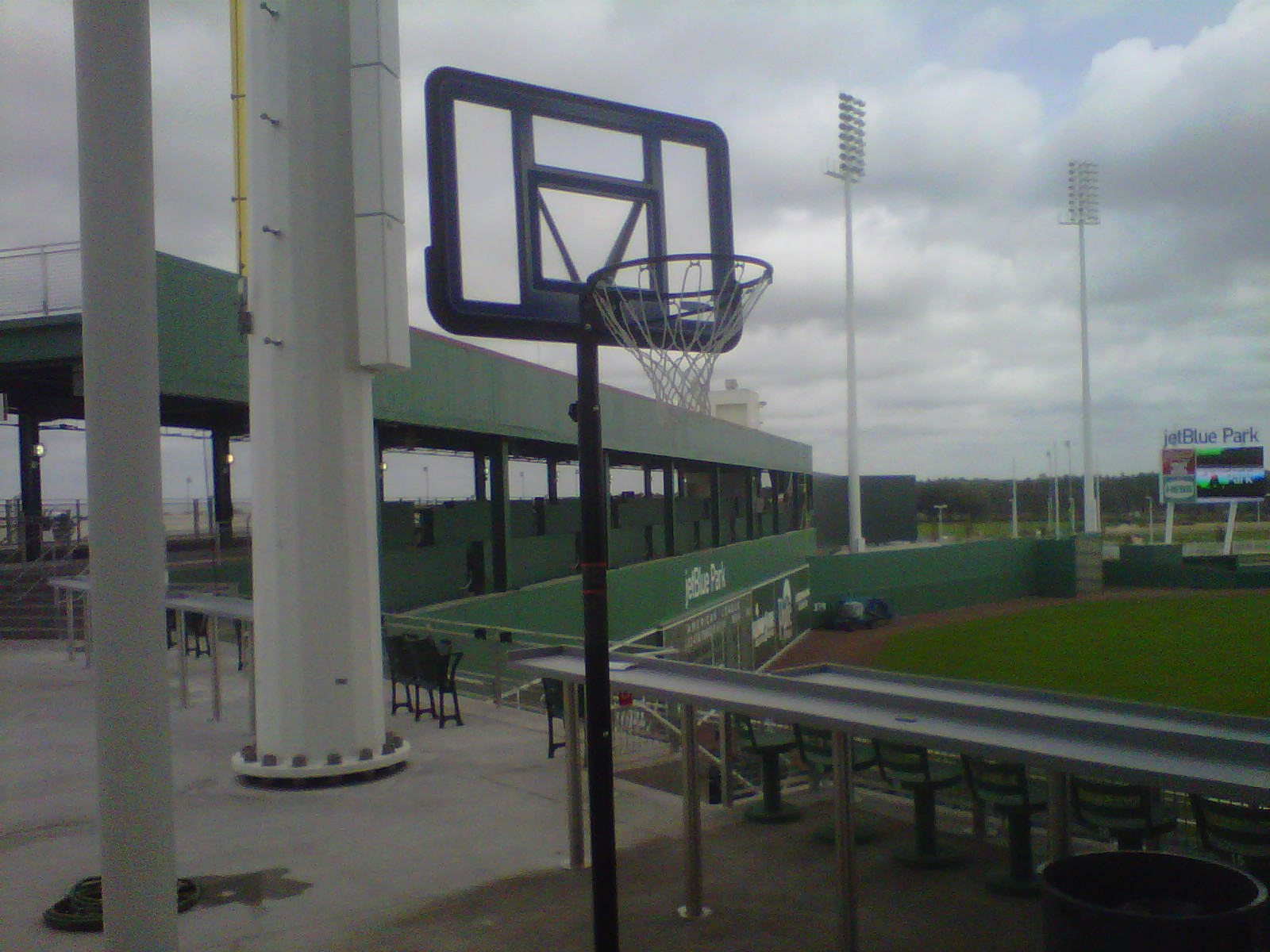 Watch 'Red Sox Live' From Fort Myers at 6 p.m. Sunday to See Why a Basketball Hoop Is Inside JetBlue Park
