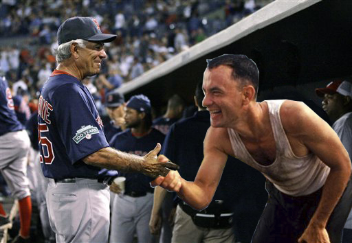 NESN Photochop: Who Else Will Bobby Valentine Attempt to Shake Hands With?