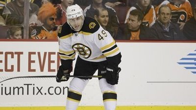 Rich Peverley Returns to Ice Back in Boston As Bruins Forward Continues Recovery from Knee Injury