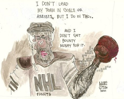 NHL Fighters Continue to Make NFL's Bounty System Look Tame by Comparison