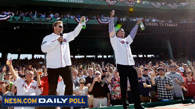 Vote: Which Former Red Sox Player Was Your Favorite at Fenway Park 100th Anniversary Ceremony?