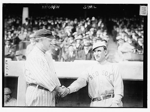 Boston-New York Managers in 1912 Wonder if They're 'Facebook Friends' (Caption Contest)