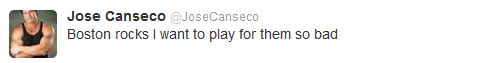 Jose Canseco Says He Wants to Play for Red Sox 'So Bad,' Almost Had Word With Alex Rodriguez