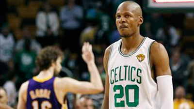 Ray Allen Probably Needs Surgery on Troublesome Ankle, But Trying Other Methods to Get Back for Playoffs