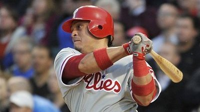 Carlos Ruiz on Fire As Phillies Host Red Sox for Three-Game Series