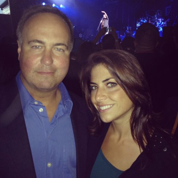 Jenny Dell, Don Orsillo Attend Dave Matthews Band Concert in Toronto (Photo)