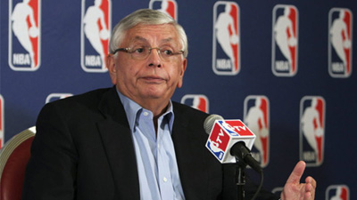 David Stern Threatens to Hit Players With 'Flopper Status' as He Unfurls New Penalties for Falling Down