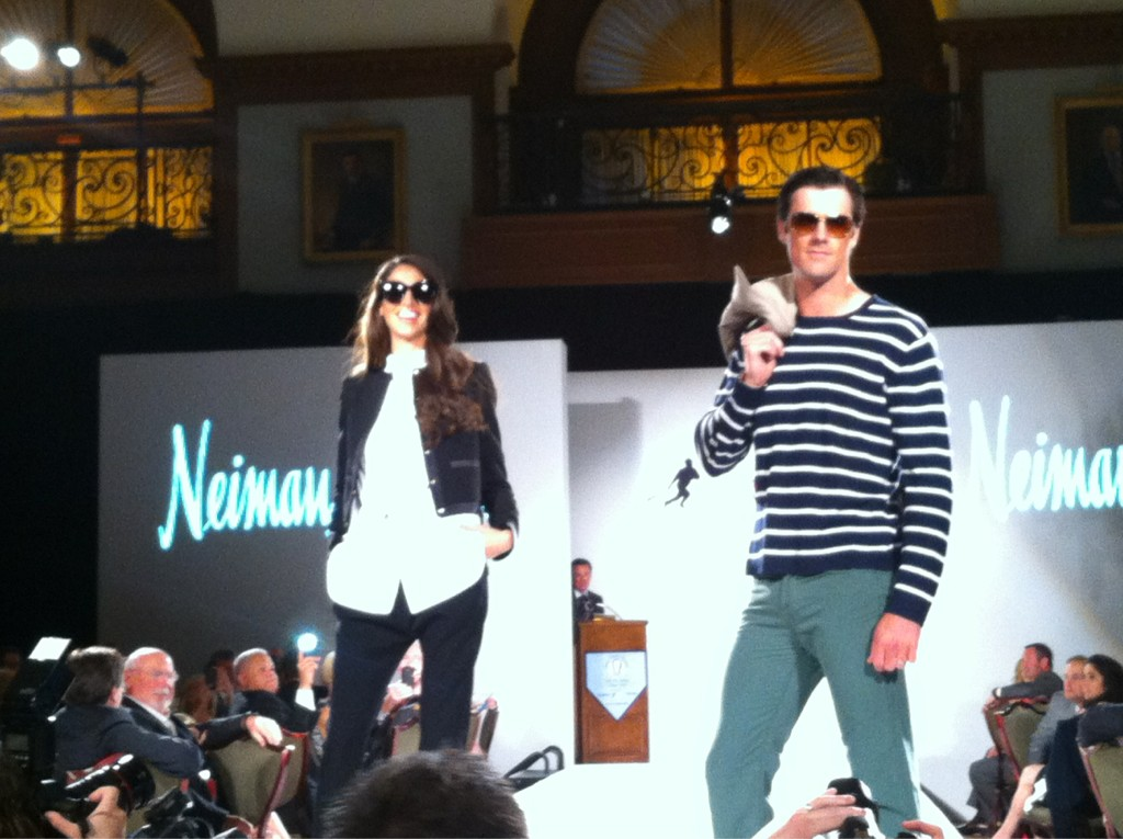 Cole Hamels Sets New Standards in Fashion at Shane Victorino's Charity Show (Photos)