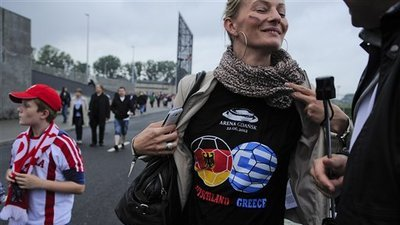 Monty Python Previews Germany-Greece 'Bailout Game' at Euro 2012 (Video)