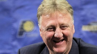 Report: Larry Bird Stepping Down as President of Pacers