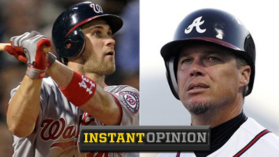 Bryce Harper, Chipper Jones Final Vote Battle Exposes Flaws in MLB All-Star Game