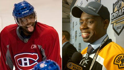 Malcolm Subban, Justin Courtnall Trying to Carve Out Own Identities Within Famous Hockey Families