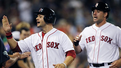 Cody Ross Batting Cleanup For Red Sox Against Bartolo Colon, Athletics