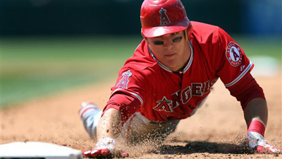 Mike Trout's 26 Stolen Bases Most Before All-Star Break in Angels History Since Jerry Remy