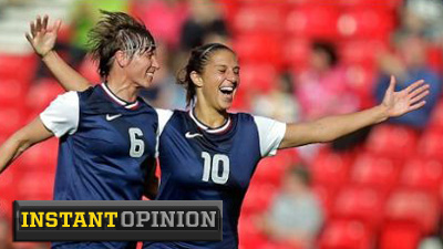 Alex Morgan, Abby Wambach, Megan Rapinoe Show U.S. Women's Soccer's Uneven Style May Be Way to Olympic Gold