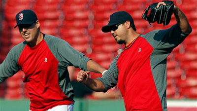 Jarrod Saltalamacchia, Kelly Shoppach Back in Red Sox Lineup As Josh Beckett Prepares for Tigers