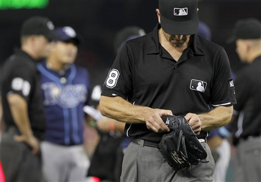 Joel Peralta's Pine Tar Ejection Angers Joe Maddon, Who Calls Nationals' Move 'Bogus,''Insider Trading' (Video)