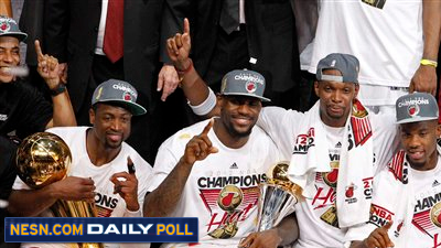 Vote: Does the Heat's NBA Title Validate LeBron James' Decision?