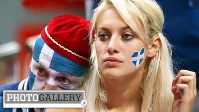 Gorgeous Greek Fans Added Blue and White-Hot Passion to Euro 2012 (Photos)