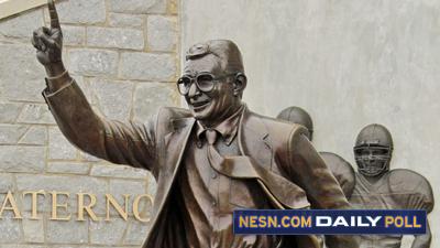 Vote: Should Penn State's Joe Paterno Statue Be Taken Down?