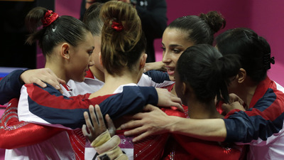 Team USA Wins Gold Medal in Women's Gymnastics Team Final for First Time Since 1996