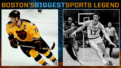 Is Ray Bourque or John Havlicek a Bigger Boston Sports Legend?
