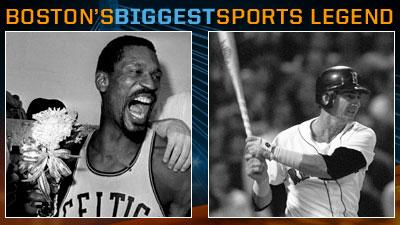 Is Bill Russell or Carl Yastrzemski a Bigger Boston Sports Legend?