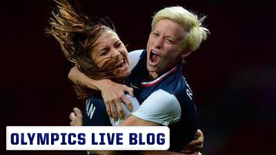 Olympic Soccer Live Blog: Carli Lloyd and Hope Solo Lead U.S. Women's Soccer Past Japan, Into Golden Paradise