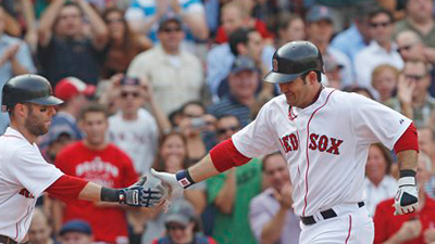 Adrian Gonzalez' Hot Hitting, Mike Napoli's Cold Bat Could Help Red Sox Win Series