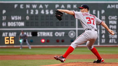 Stephen Strasburg's Supposed Innings Limit Makes Less and Less Sense Every Day