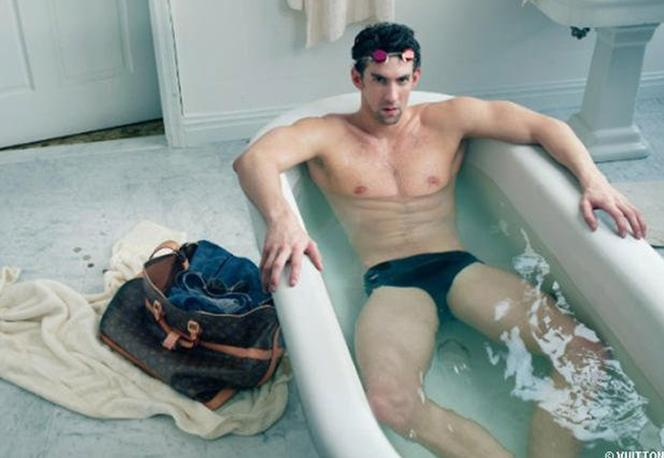 Michael Phelps' Louis Vuitton Photo Shoot Could Spell Trouble for Olympian (Photos)