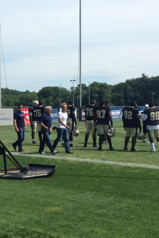Bon Jovi Spotted at Patriots Camp During Pats-Saints Joint Practice (Photos)