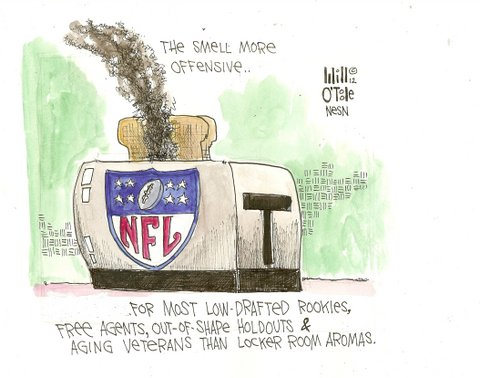 NFL Rookies, Free Agents, Out-of-Shape Holdouts, Aging Veterans Are Toast as Teams Make Cuts