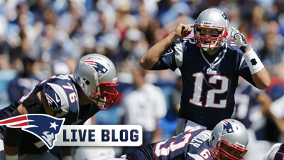Patriots Live Blog: Tom Brady Leads Offense, Jerod Mayo Steadies Defense in 34-13 Win Over Titans