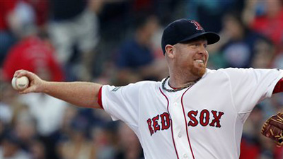 Aaron Cook Takes Mound, Mauro Gomez Mans First Base as Red Sox Move on to Royals