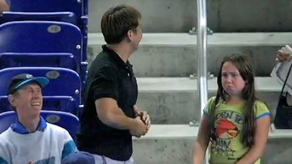 'Rude Guy' Steals Ball From Young Girl at Marlins Game (Video)