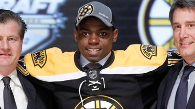 Bruins Sign First-Round Pick Malcolm Subban to Three-Year Entry Contract