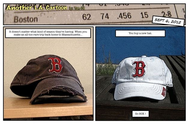 Red Sox Nation Showing Unwavering Support Across Country Despite Rocky Season (Photo)