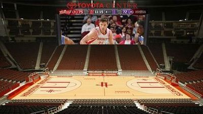 Houston Rockets Will Have Largest Indoor Scoreboard Screen in United States (Photo)