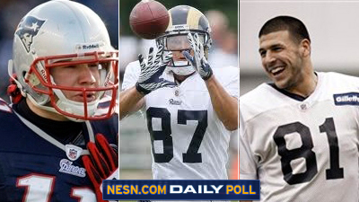 Vote: Who Should Be the Patriots' Third Wide Receiver This Season?