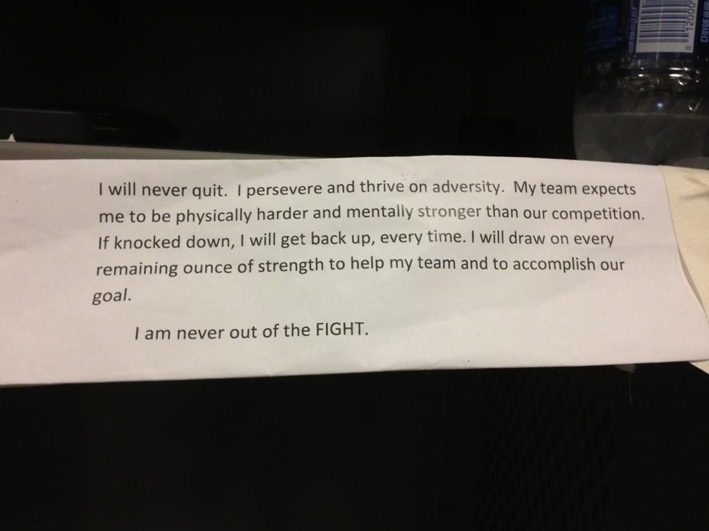 Jason Witten Hangs Inspirational Message From Navy SEALs in Locker (Photo)