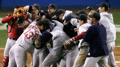 Red Sox Will Honor 2004 World Series-Winning Squad, All-Fenway Park Team Before Year's Final Two Home Games