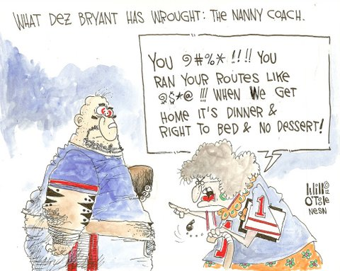 Dez Bryant's Need for Supervision Has Brought Era of Nanny Coaches to NFL