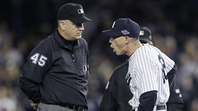 Joe Girardi Seems to Change Position on Expanded Instant Replay After Umpire Admits Blown Call in Yankees Loss