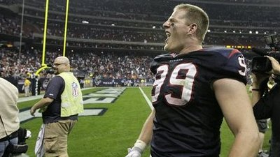 J.J. Watt Says Watching 'Hard Knocks' Helped Texans Defense Against Dolphins, Maybe More Than Mario Williams Could Have