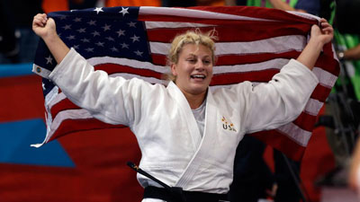Kayla Harrison Talks About Becoming First American Judo Gold Medalist in NESN.com Interview