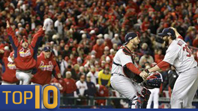 CC Sabathia's Complete Game, Cardinals' Ninth-Inning Comeback Among Top 10 Moments of Division Series (Video)